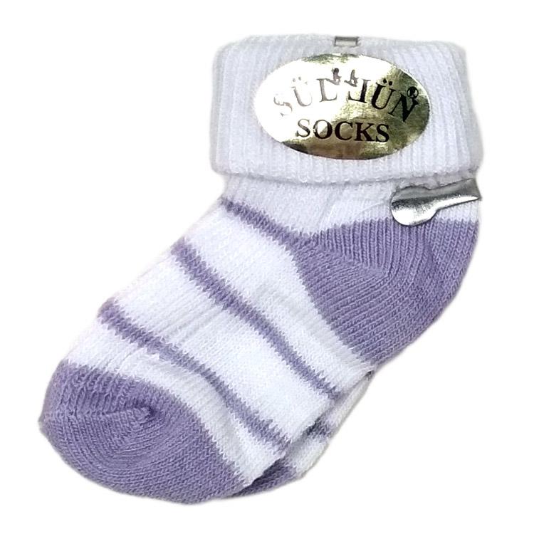 Носки для новорожденного, арт. 008, возраст от 0 до 3 месяцев