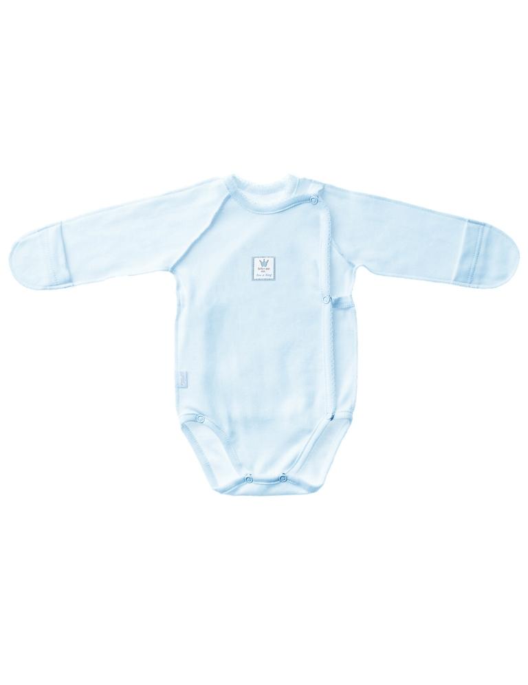 Боди-распашонка детская, арт.102367, возраст от 0 до 3 месяцев