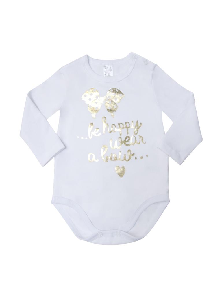 Боди-футболка для девочки, арт. 102626, возраст от 12 до 18 месяцев