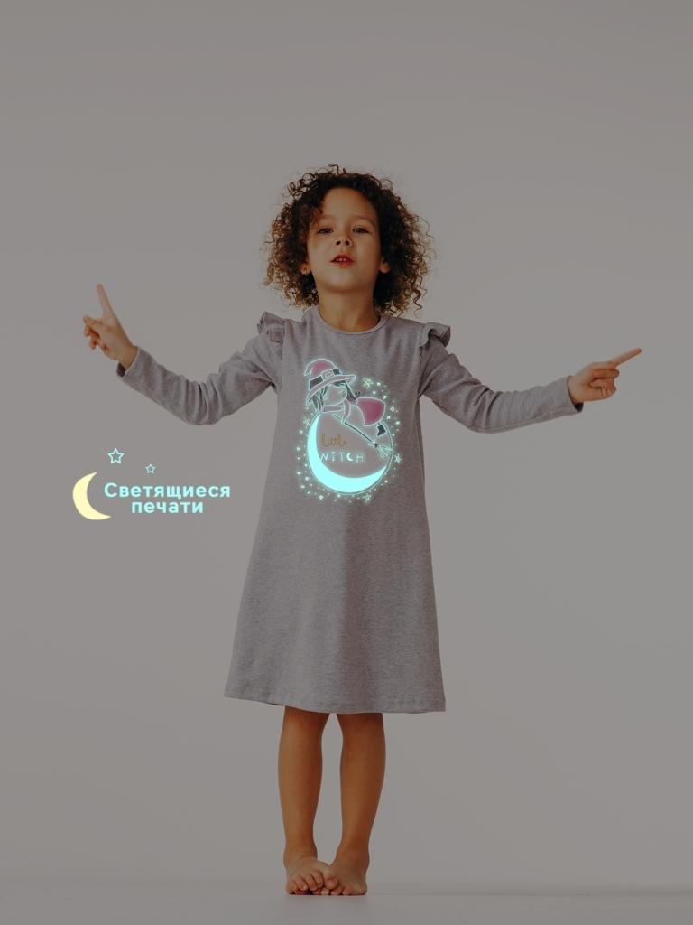 Ночная рубашка для девочки, арт.104377, возраст от 4 до 6 лет