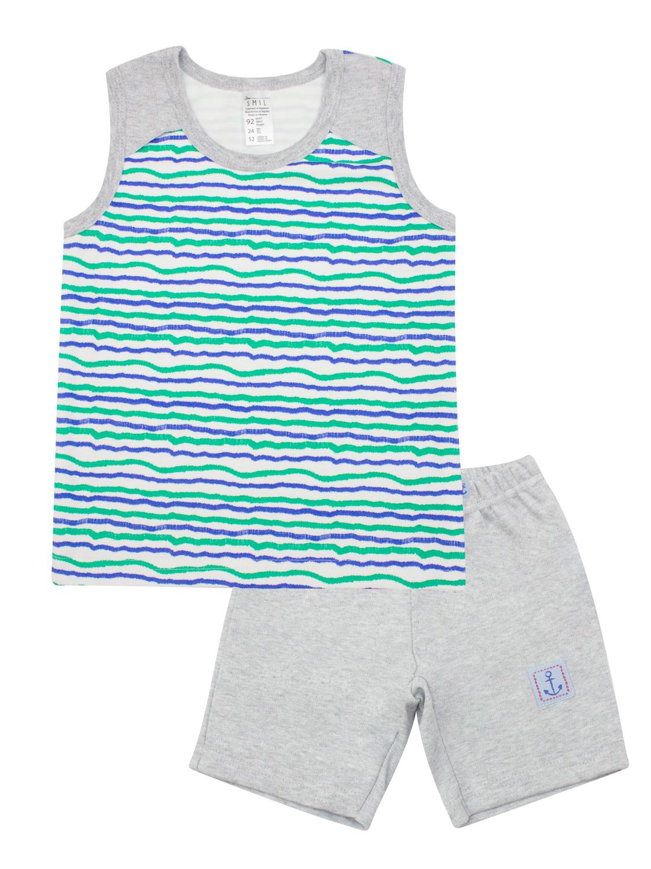 Пижама для мальчика, арт. 104379, возраст от 2 до 6 лет