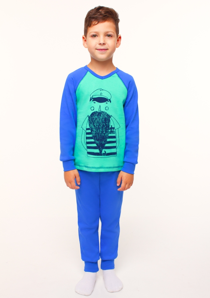 Пижама для мальчика, арт. 104453, возраст от 7 до 10 лет