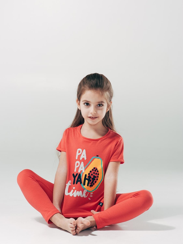 Футболка для девочки, арт. 110488, возраст от 7 до 10 лет