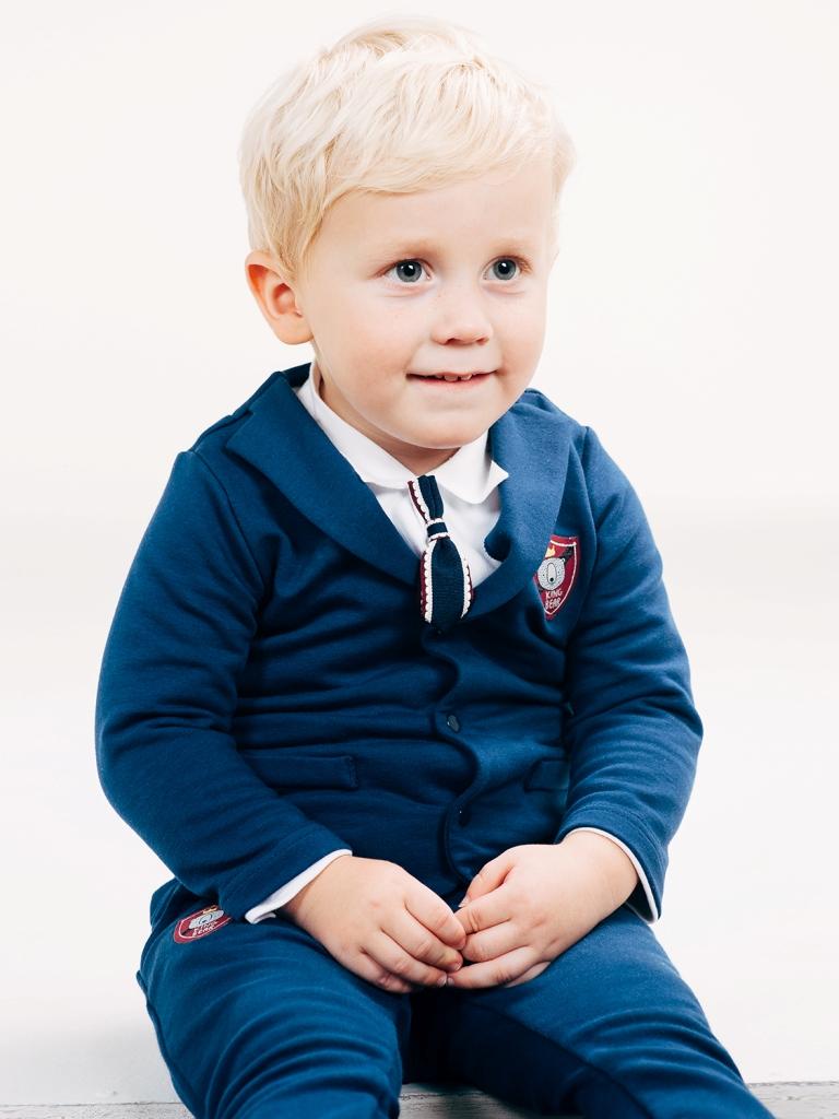 Пиджак для мальчика, арт. 116400, возраст от 12 до 18 месяцев
