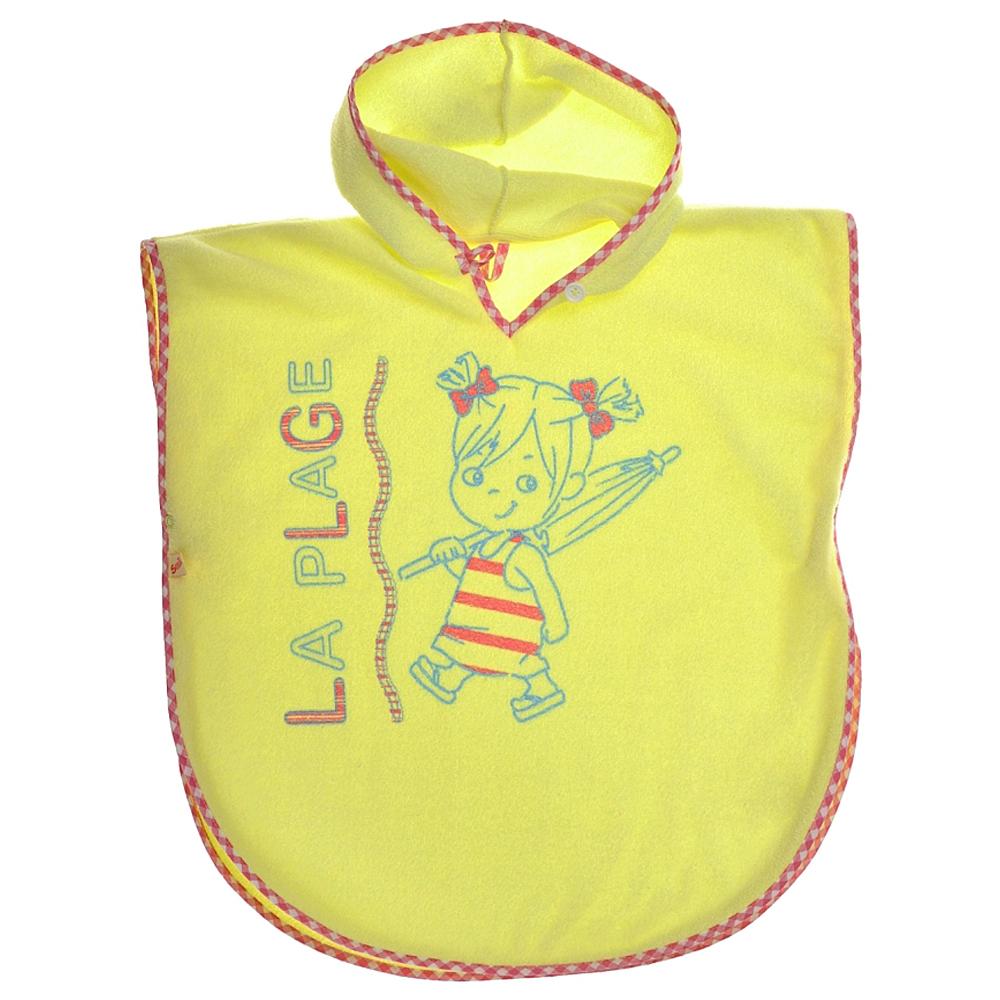 Полотенце-пончо детское, арт.119703, возраст 5 лет