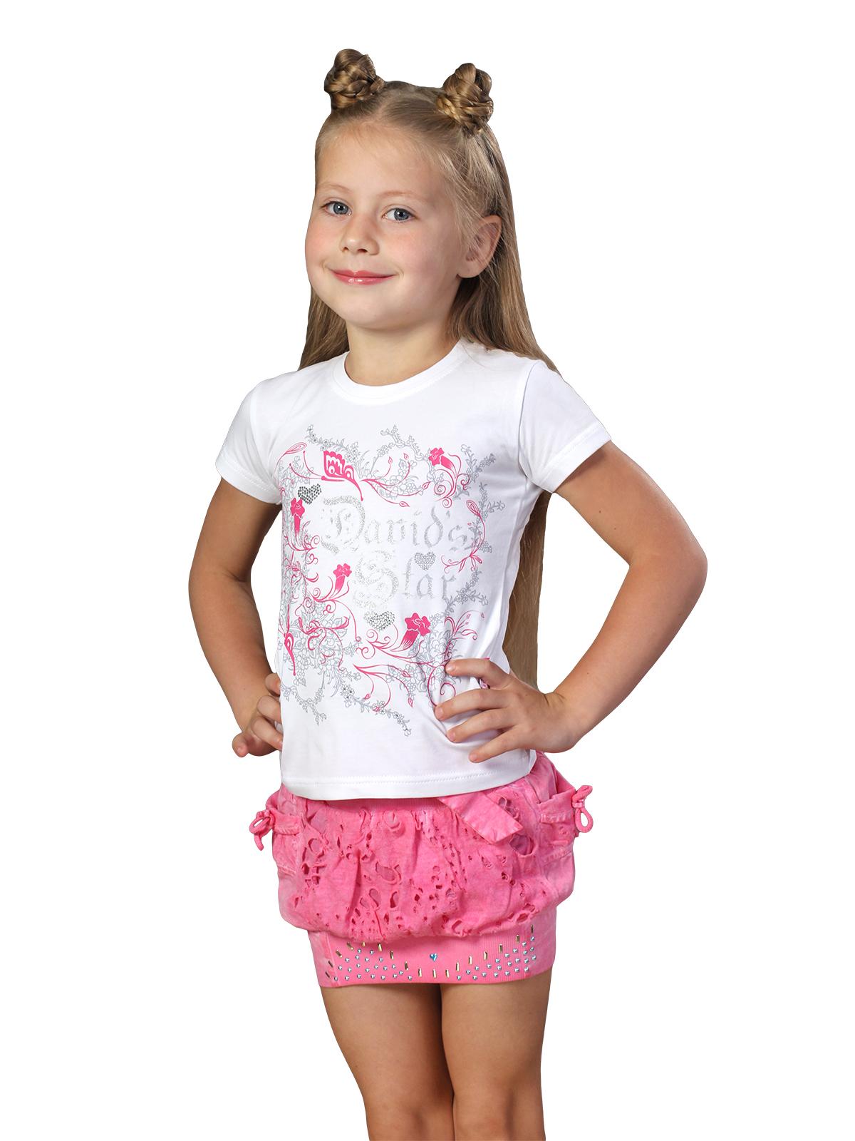 Юбка для девочки, арт.1521 возраст от 4 до 7 лет