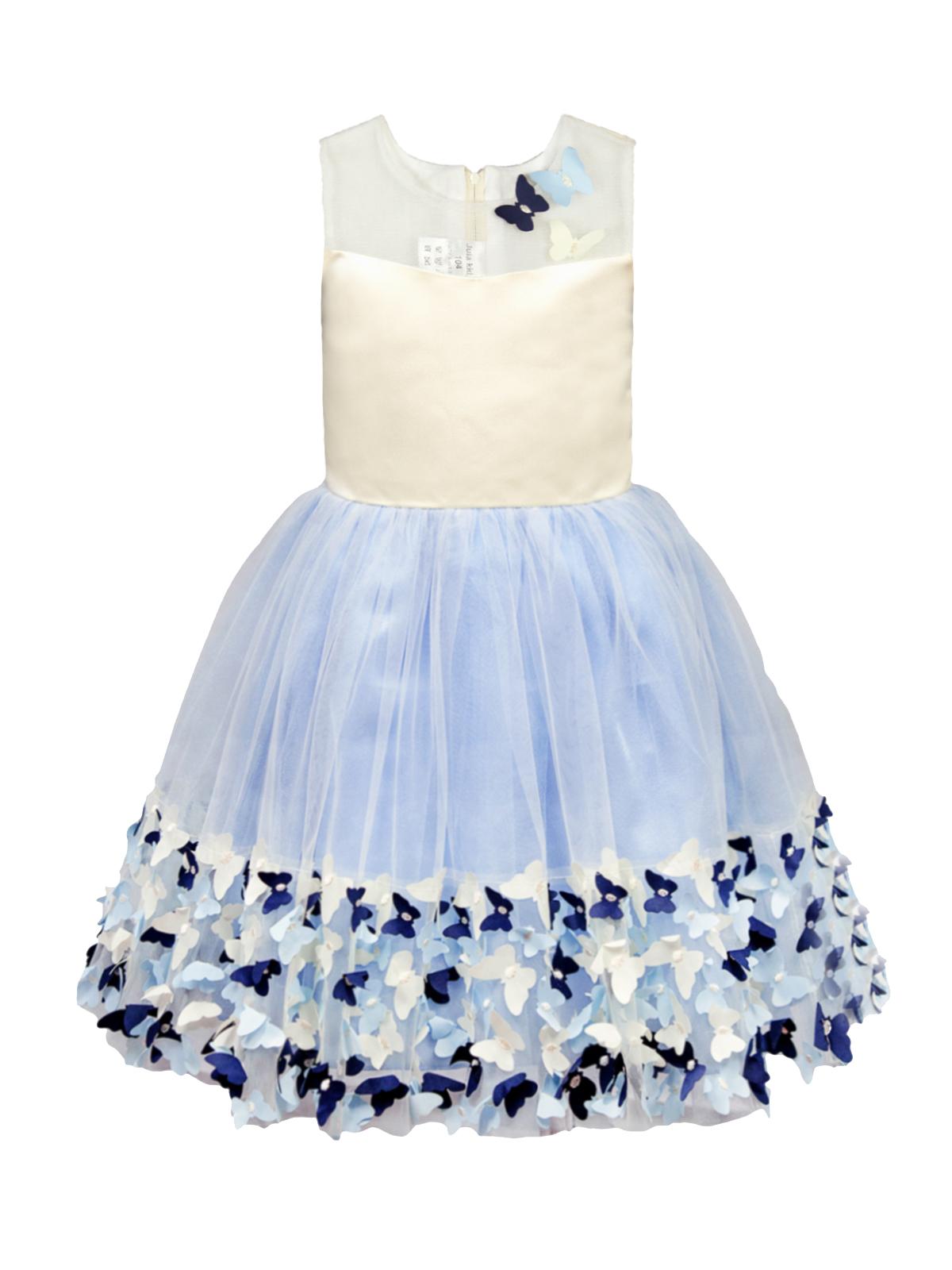 Нарядное платье для девочки, арт.190207, возраст от 5 до 8 лет
