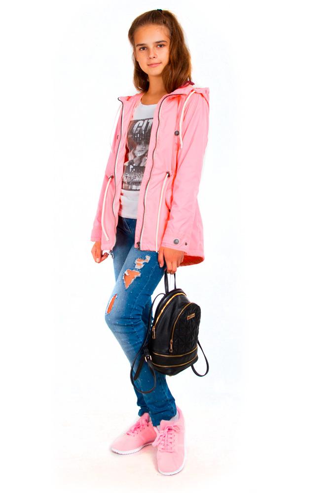 Куртка для девочки, арт. 21-ВД-19, возраст от 5 до 8 лет