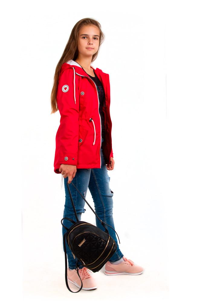 Куртка для девочки, арт. 22-ВД-19, возраст от 9 до 11 лет