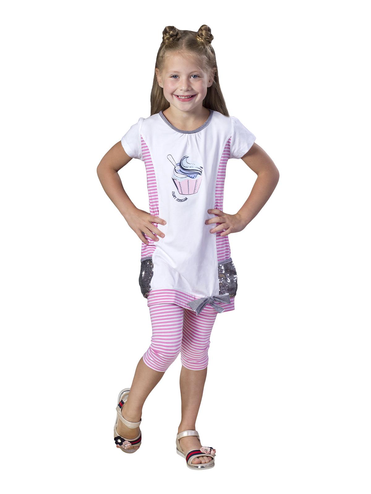 Комплект для девочки (туника+лосины), арт.2924 возраст от 5 до 8 лет