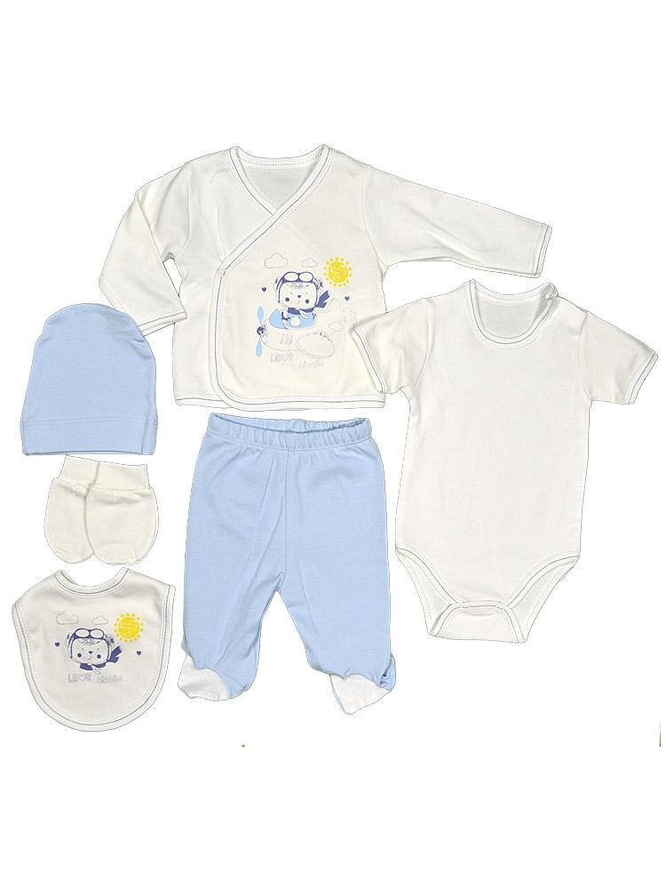 """Комплект для малыша Пилот"""", арт.3614 возраст от 0 до 6 месяцев"""""""