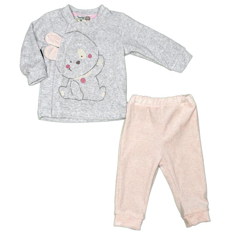 Комплет велюровый детский, арт.374278 возраст от 6 до 12 месяцев
