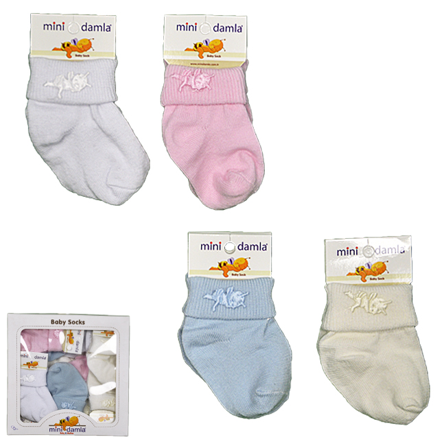 Носки для новорожденного, арт. 41364, возраст от 0 до 3 месяцев