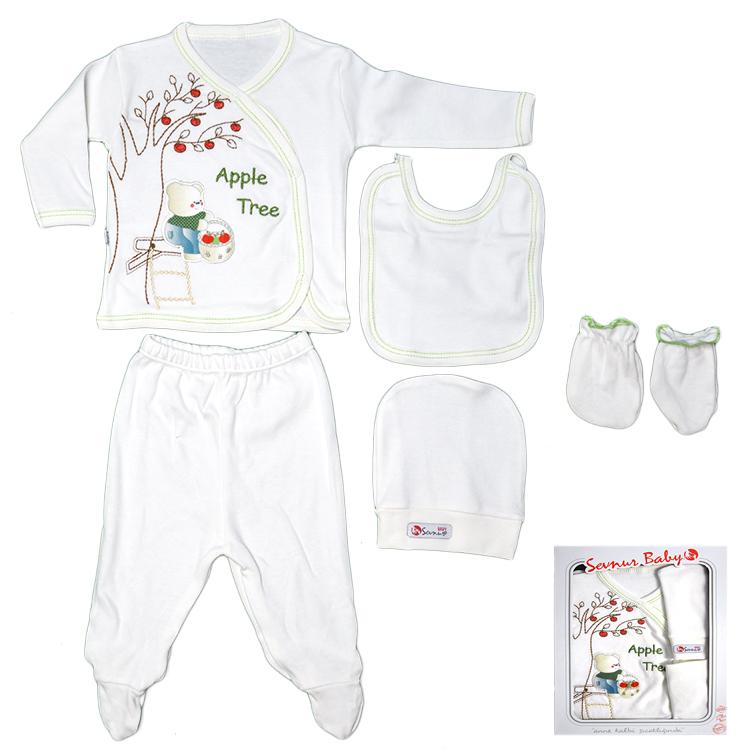 Комплект в коробке для малыша, арт.507 возраст от 0 до 6 месяцев