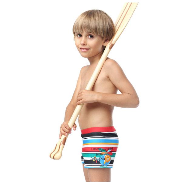 Плавки-шорты для мальчика, арт. LION, возраст от 2 до 5 лет