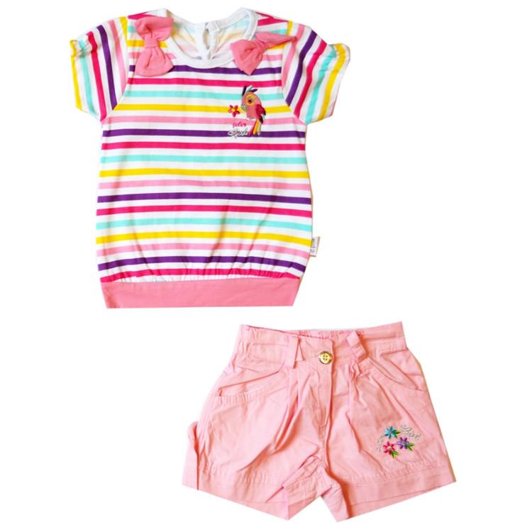 Туника+шорты, арт.01161 возраст от 1 до 3 лет