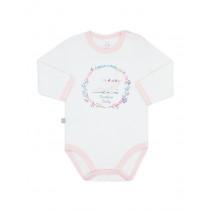 Боди-футболка с длинным рукавом для малыша, арт. 102435, возраст от 6 до 18 месяцев