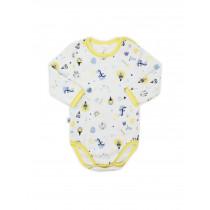 Боди-футболка с длинным рукавом для малыша, арт. 102439, возраст от 6 до 18 месяцев