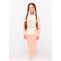 Пижама для девочки, арт. 104365, возраст от 2 до 6 лет