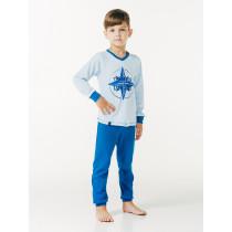 Пижама для мальчика, арт. 104370, возраст от 2 до 6 лет