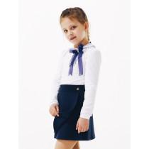 Блуза для девочки длинный рукав, арт. 114647 возраст от 11 до 14 лет