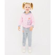 Комплект (куртка+брюки) для девочки, арт. 117194, возраст от 6 до 18 месяцев