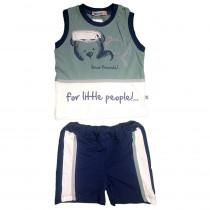 Комплект для мальчика, майка+шорты, арт.9243 возраст 12 месяцев