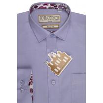 Рубашка для мальчика, арт. Lily 82 slim, возраст от 6 до 15 лет