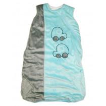 Спальный мешок для мальчика, арт.NB121p , возраст от 0 до 18 месяцев