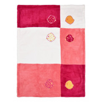 Одеяло двойное для девочки , арт. BL115p, размер