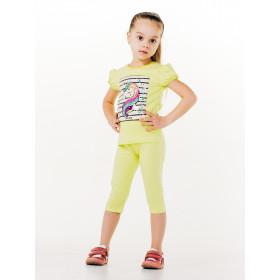 Лосины 3/4 для девочки, арт. 115367, возраст от 2 до 6 лет