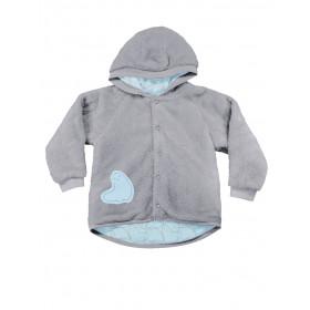 Кофточка с капюшоном для новорожденных, арт. 116142, возраст от 0 до 3 месяцев