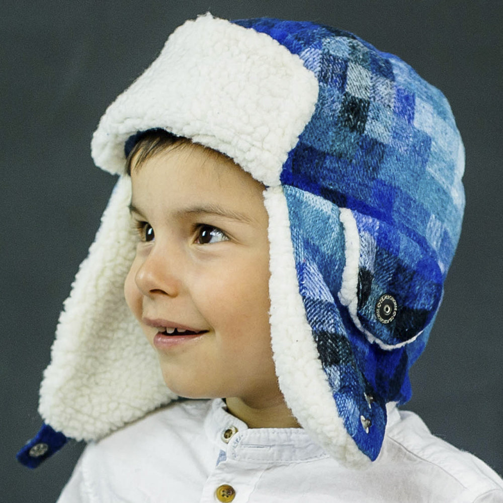 Набор для мальчика шапка+варежки, арт. Миллер, возраст от 2 до 5 лет