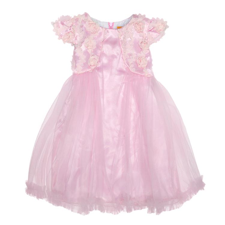 Нарядное платье, арт. Золушка возраст от 4 до 9 лет