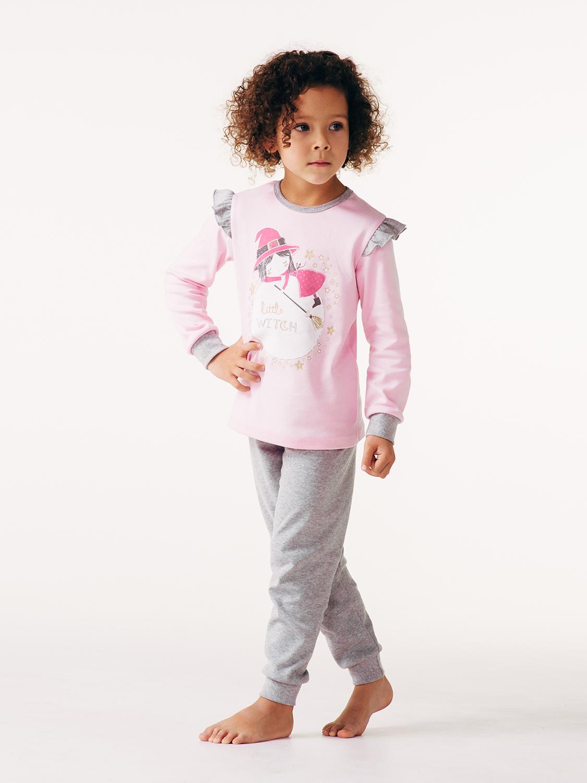 Пижама для девочки, арт.104462, возраст от 7 до 10 лет