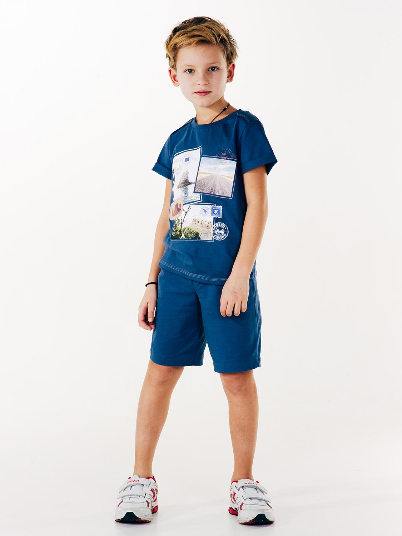 Шорты  для мальчика, арт. 112283,  возраст от 7 до 10 лет