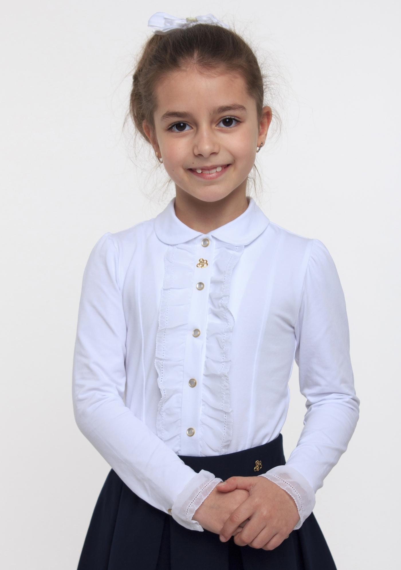 Блуза для девочки, арт. 114513, возраст от 6 до 10 лет