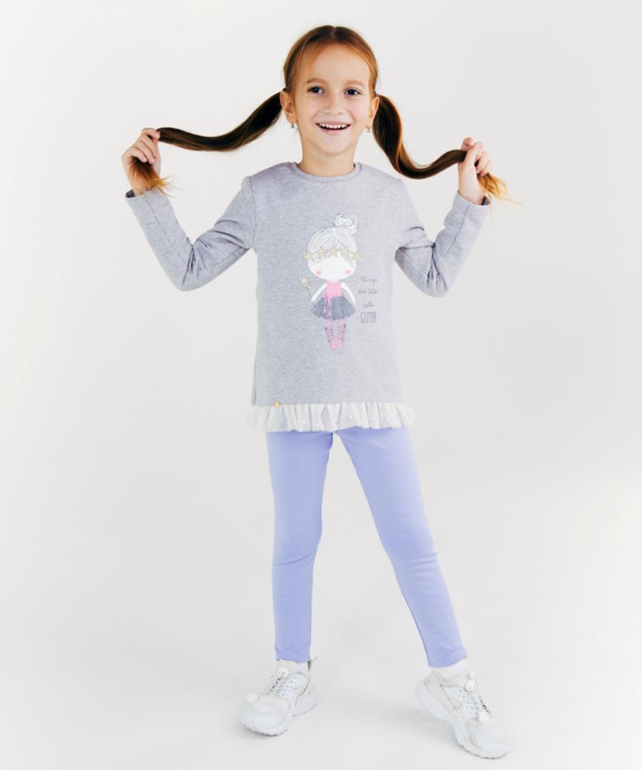 Лосины для девочки, арт. 115353, возраст от 7 до 10 лет