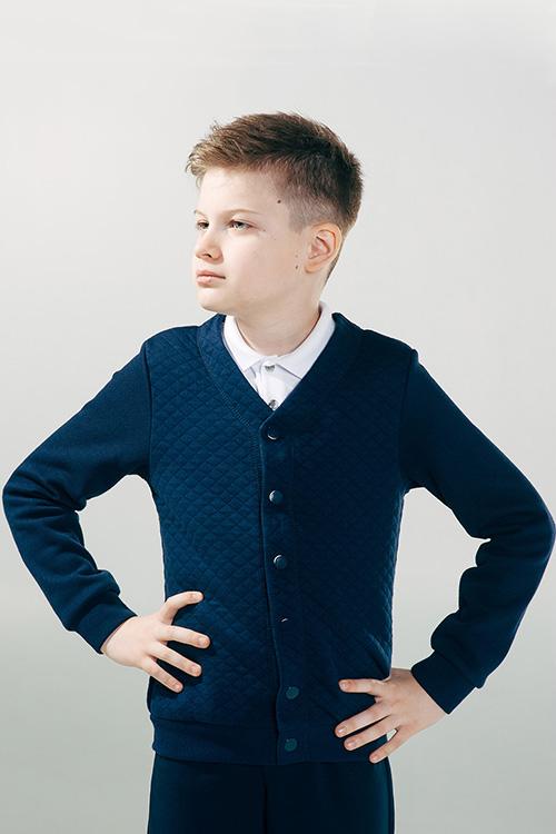 Пиджак для мальчика, арт. 116345, возраст от 7 до 10 лет