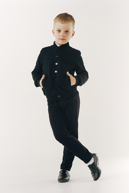 Бомбер для мальчика, арт. 116415, возраст от 6 до 10 лет