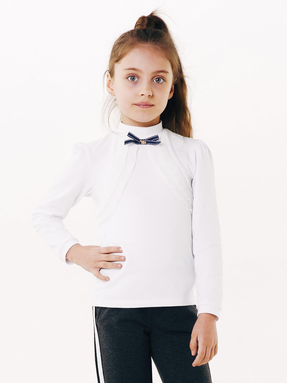 Блуза для девочки длинный рукав, арт. 114645 возраст от 11 до 14 лет