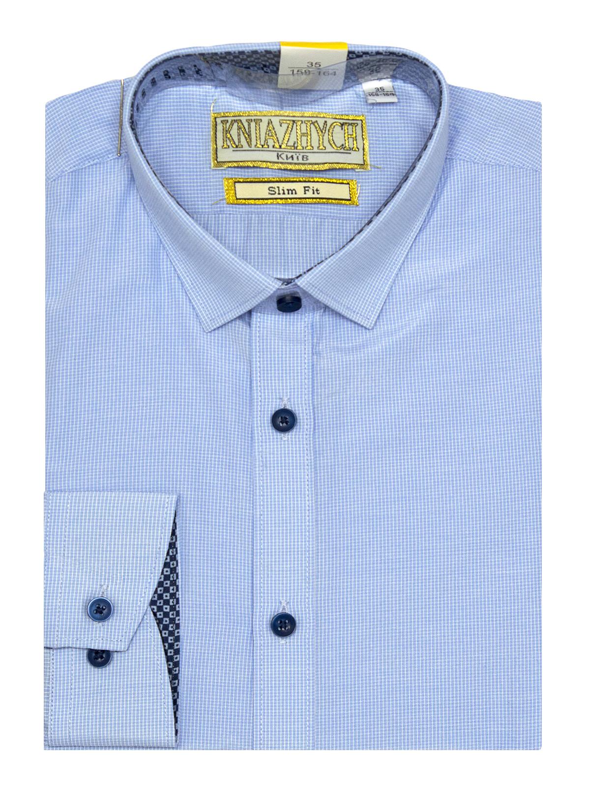 Рубашка для мальчика, арт. Kassel 6 slim, возраст от 6 до 15 лет