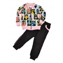 Спортивный костюм для девочки, арт. 014СК, возраст от 2 до 7 лет