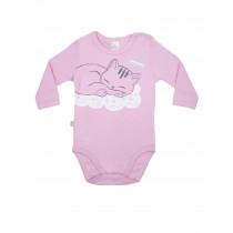 Боди-футболка с длинным рукавом  детская, арт.102105, возраст от 6 до 18 месяцев