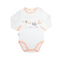 Боди-футболка для девочки, арт. 102372, возраст от 6 до 18 месяцев