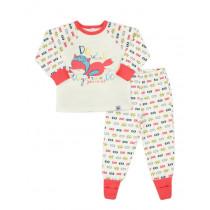 Пижама для девочки, арт. 104207, возраст от 12 до 18 месяцев