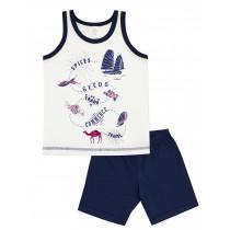 Пижама для мальчика, арт. 104381, возраст от 2 до 6 лет