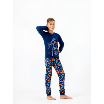 Пижама для мальчика, арт.104386, возраст от 2 до 6 лет
