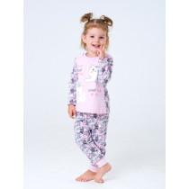 Пижама для девочки, арт. 104418, возраст от 7 до 10 лет