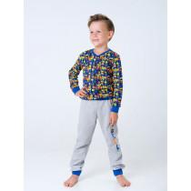 Пижама для мальчика, арт. 104419, возраст от 7 до 10 лет